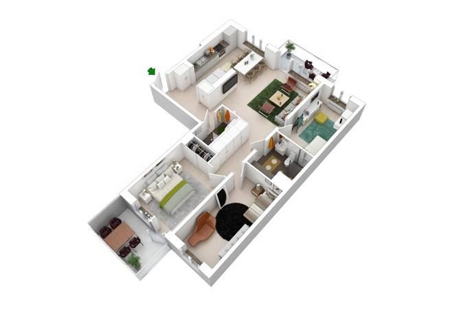 Bild: 4 rum bostadsrätt på Kvarnvägen, Järfälla kommun Jakobsberg