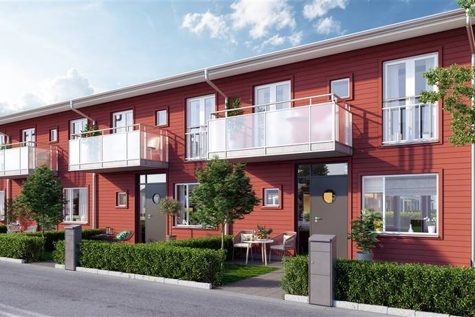 Bild: 5 rum radhus på Bronsgjutarvägen 23, Lgh nr R1:2, Kristianstads kommun Hammar