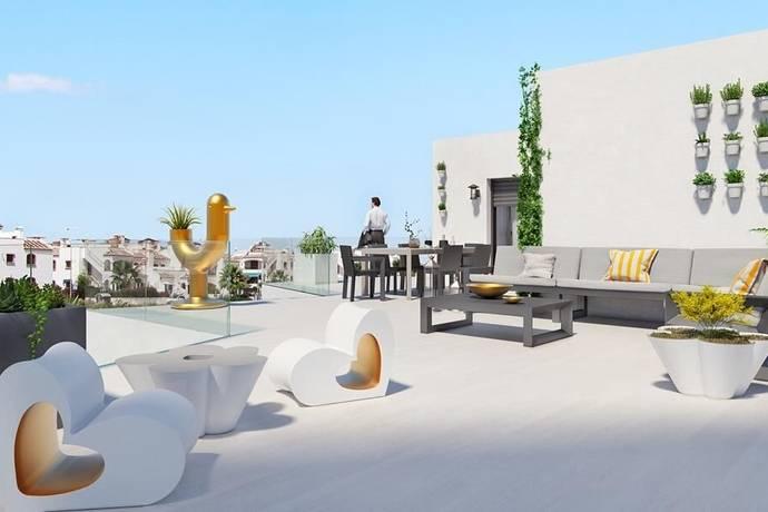 Bild: 4 rum bostadsrätt på Penthouse i Orihuela-Costa, Alicante, Spanien
