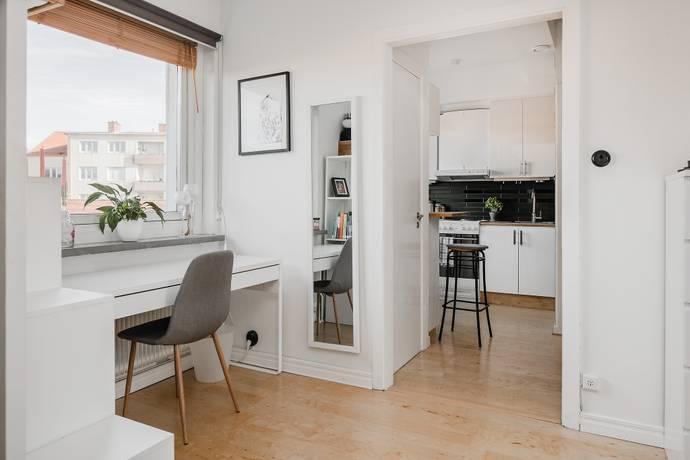 Bild: 1 rum bostadsrätt på Ingegatan 5, Skövde kommun Vasastaden