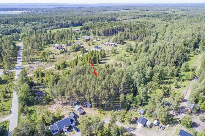 Bild: tomt på Järnäsklubb 117, Nordmalings kommun