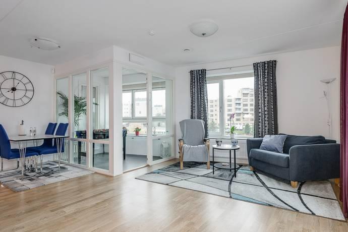 Bild: 3 rum bostadsrätt på Borgarfjordsgatan 21B, Stockholms kommun Kista