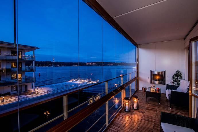 Bild: 3 rum bostadsrätt på Finnboda Kajväg 12E, Nacka kommun 2 trappor