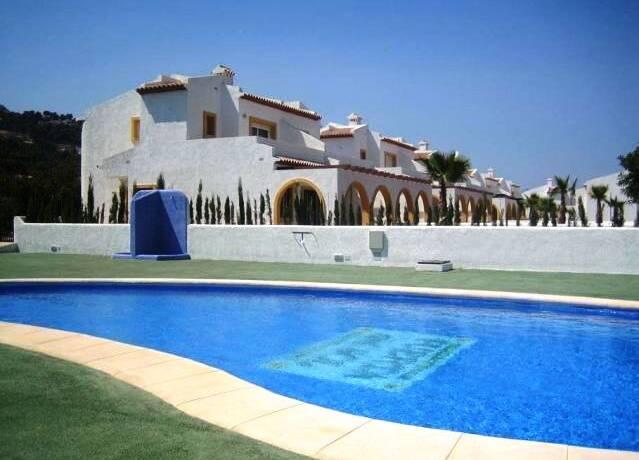 Bild: 4 rum villa på Villor nära stranden med omgiven all service, Spanien Playa del Arenal-Calpe-Costa B