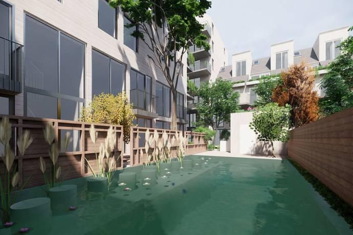 Bild från Brunnshög - Lund - Det Goda Vattnet - Lunds mest spännande bostäder signerat arkitekt Cord Siegel