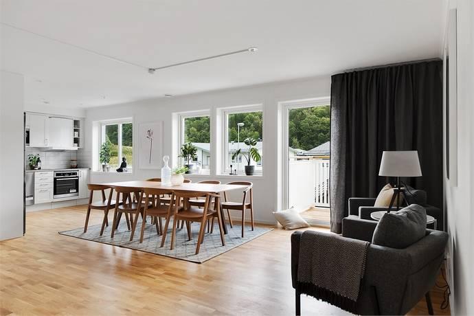 Bild: 4 rum bostadsrätt på Utsiktsvägen 6 G, Uddevalla kommun Ljungskile