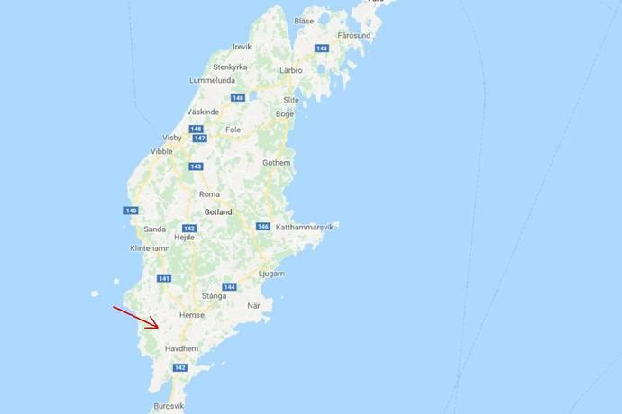 cykelled gotland karta Silte Snausarve 5:1 i Silte   Gotland, Silte   Gård till salu   Hemnet cykelled gotland karta