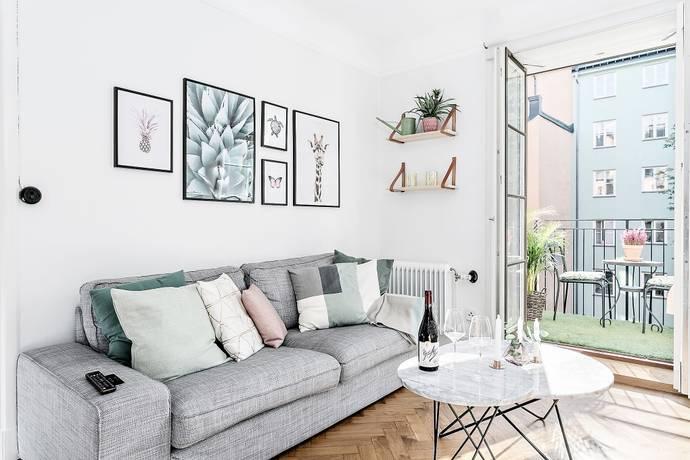 Bild: 2,5 rum bostadsrätt på Wollmar Yxkullsgatan 5, 2 tr, Stockholms kommun Södermalm