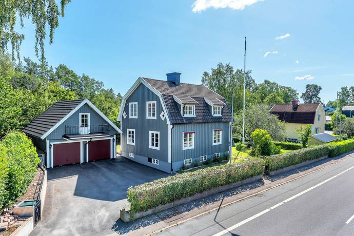 Bild: 4 rum villa på Carl Wahrens väg 7, Norrtälje kommun Hallstavik