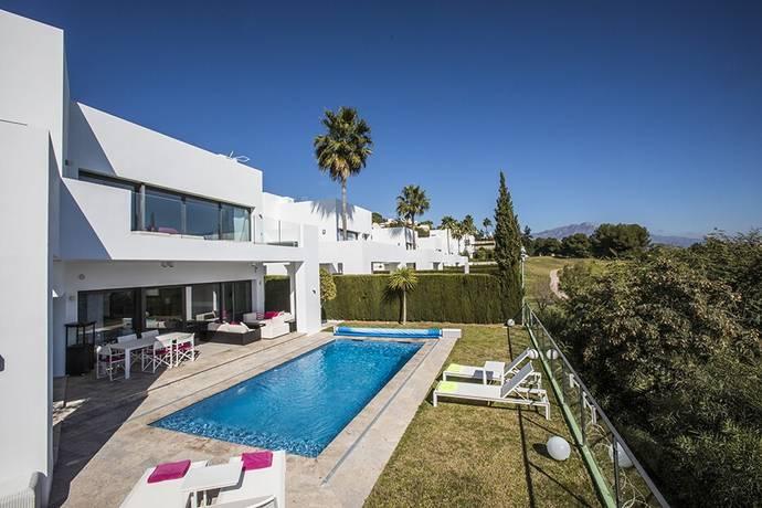 Bild: 5 rum villa på Modern högkvalitets villa med utsikt över havet och golfbanan, Spanien Marbella - Atalaya