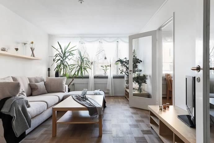 Bild: 3 rum bostadsrätt på Mockasinvägen 22, Stockholms kommun Solberga / Älvsjö