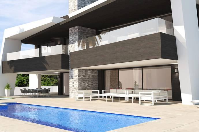 Bild: 6 rum villa på Utsikt över golfbanan, Spanien Arkitektritad Villa