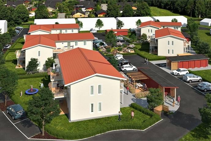 Bild: 2 rum bostadsrätt på Lindkullegatan 63A, Alingsås kommun Ingared
