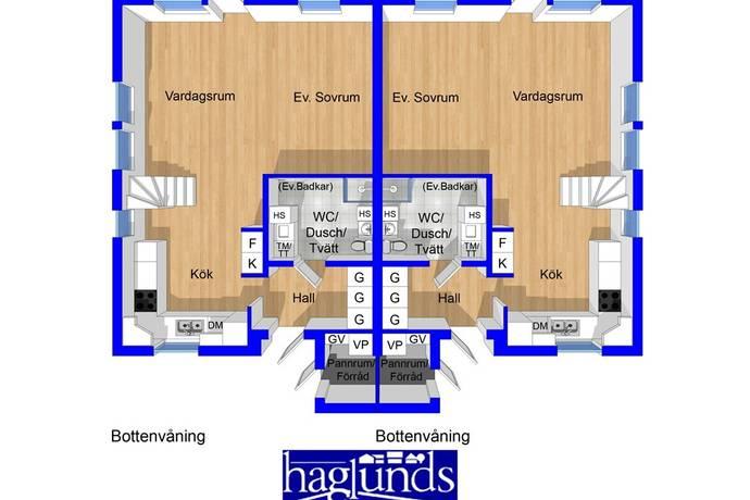 Bild: 4 rum bostadsrätt på Vistmansvägen 4 A eller B, Forshaga kommun Visterud