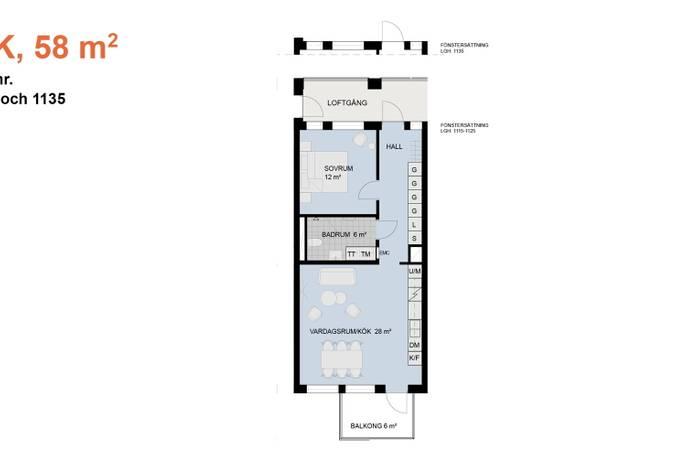 Bild: 2 rum bostadsrätt på Scheelevägen 5, Lunds kommun