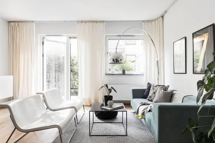 Bild: 4 rum bostadsrätt på Sandhamnsgatan 47, Stockholms kommun Gärdet / Östermalm