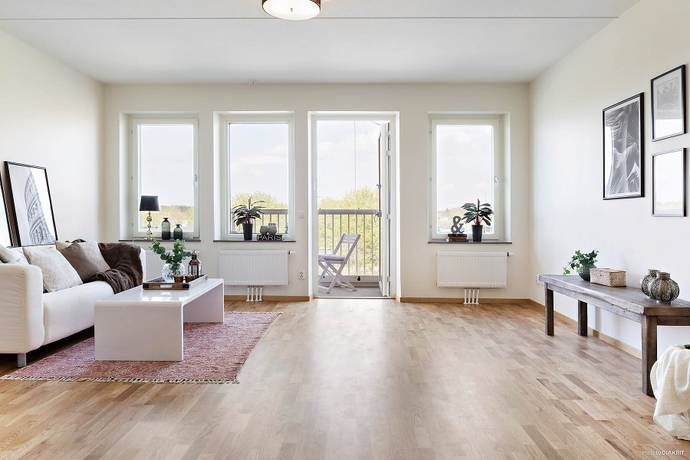 Bild: 3 rum bostadsrätt på Råbyvägen 74, Uppsala kommun Kvarngärdet