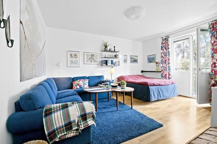 Bild: 1 rum bostadsrätt på Bäckaskiftsvägen 21, Stockholms kommun Stureby
