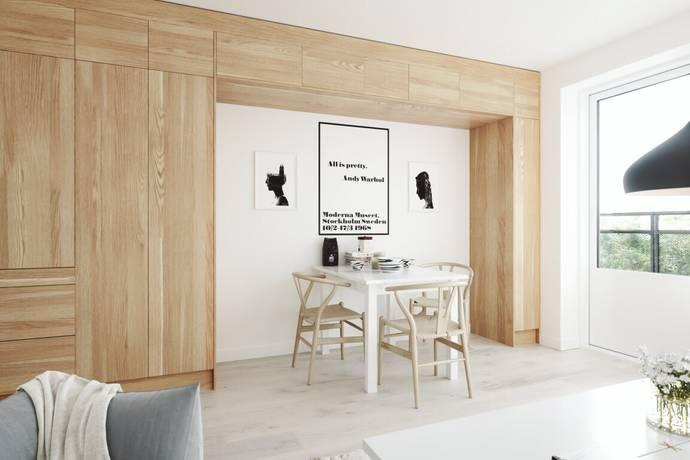 Bild: 1 rum bostadsrätt på Ektorpsvägen 1, Nacka kommun Ektorp