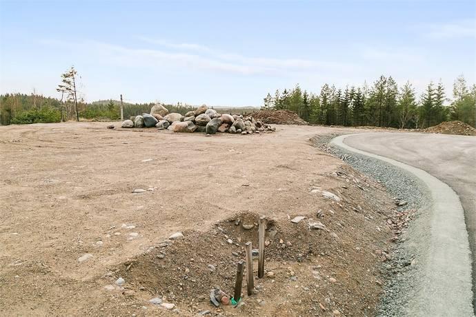 Bild: tomt på Korpvägen 19, Dals-Eds kommun Ed