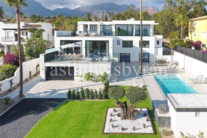 Bild: 8 rum villa på Lyxig villa med havsutsikt!, Spanien La Nucia | Costa Blanca
