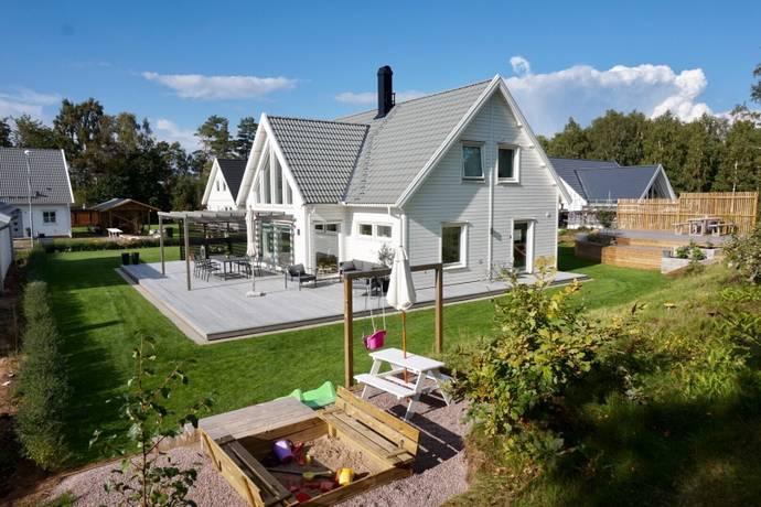 Bild: 6 rum villa på Ivars Väg 3, Falkenbergs kommun Skrea