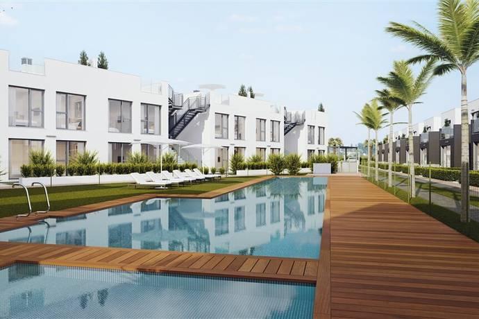 Bild: 3 rum villa på Tindra Punta Prima II, 3 rum m terrass och takterrass, Spanien Costa Blanca - Punta Prima