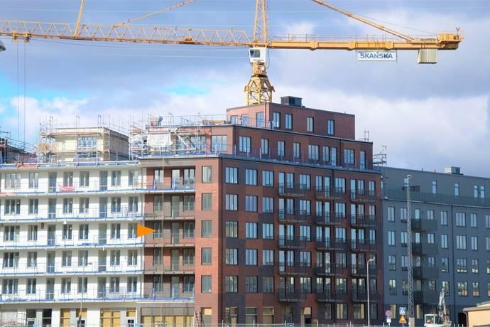 Bild: 5 rum bostadsrätt på Virkesvägen 17 C, 7:e planet!, Stockholms kommun Hammarby Sjöstad - Luma