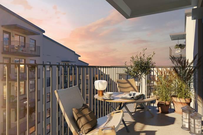 Bild: 3 rum bostadsrätt på Fredsborgsgatan 36, Stockholms kommun Liljeholmskajen