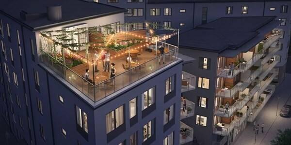Bild: 5 rum bostadsrätt på Bryggvägen 10, Stockholms kommun Gröndal