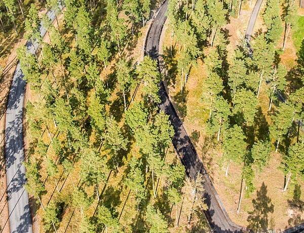 Bild: tomt på Eldtornsvägen 18, Kristianstads kommun ÅHUS - Södra Äspet
