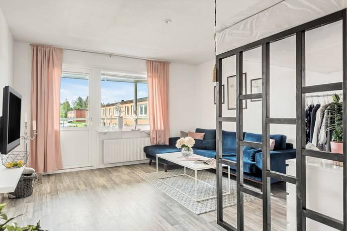 Bild: 1 rum bostadsrätt på Färgargränd 2, Östersunds kommun Lugnvik
