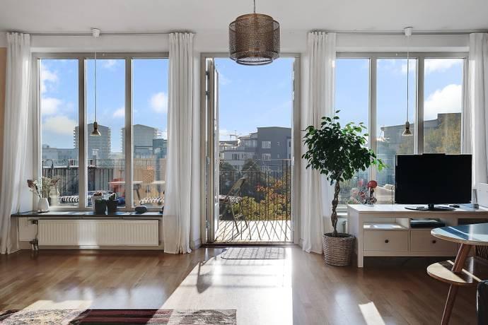 Bild: 4 rum bostadsrätt på Nybodaringen 101, Stockholms kommun Liljeholmskajen / Årstaberg