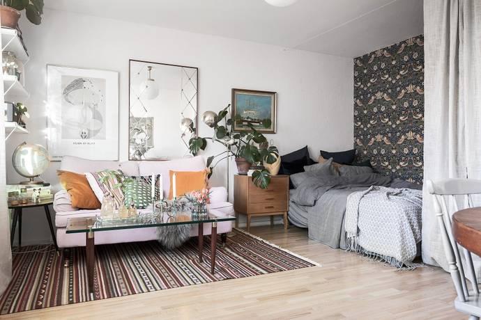 Bild: 1 rum bostadsrätt på Sjösavägen 17, Stockholms kommun Bandhagen / Högdalen