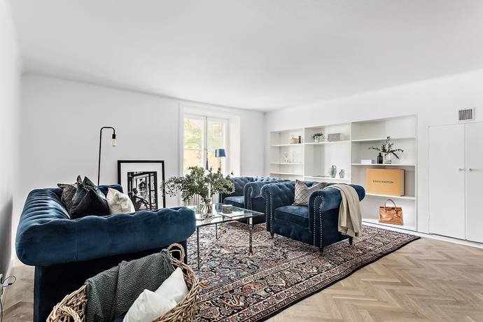 Bild: 3 rum bostadsrätt på Birger Jarlsgatan 44, 1tr, Stockholms kommun Östermalm / Humlegården