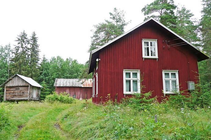 Bild: 3 rum gård/skog på Båstnäs Solhem, Årjängs kommun Töcksfors Värmland