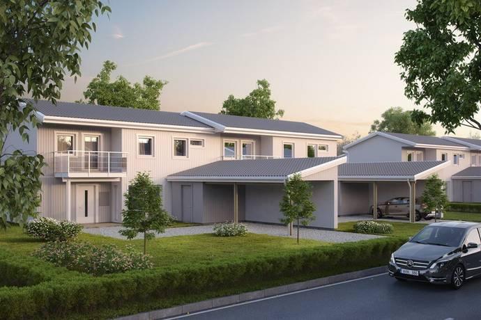 Bild: 5 rum radhus på Pilfinkvägen, Östersunds kommun Brittsbo