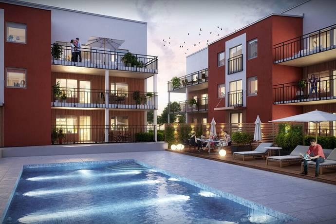 Bild: 1 rum bostadsrätt på Anteliigatan 7, Växjö kommun Väster