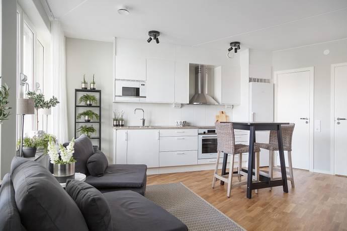 Bild: 1 rum bostadsrätt på Heliosgatan 16A, Stockholms kommun Hammarby Sjöstad