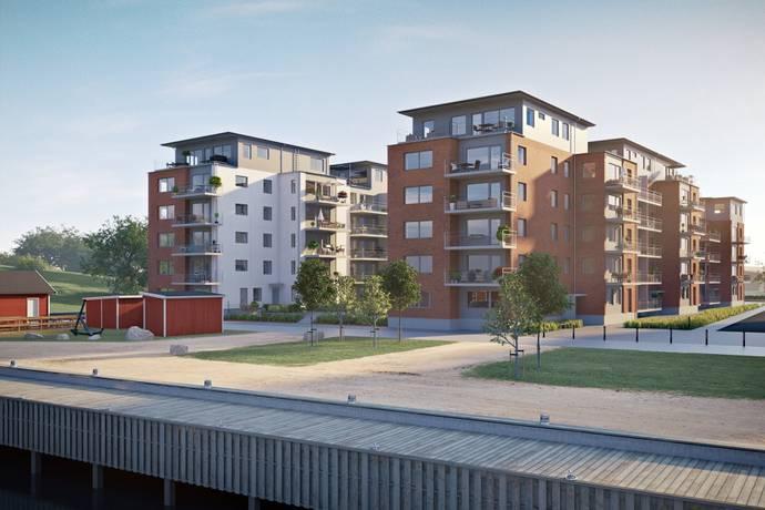 Bild: 4 rum bostadsrätt på Glasbrukskajen 2A, Malmö kommun Limhamns sjöstad