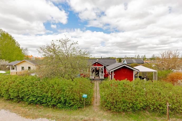 Bild: 1 rum fritidshus på Åsenborgsvägen 41, Västerås kommun Hälla koloniområde