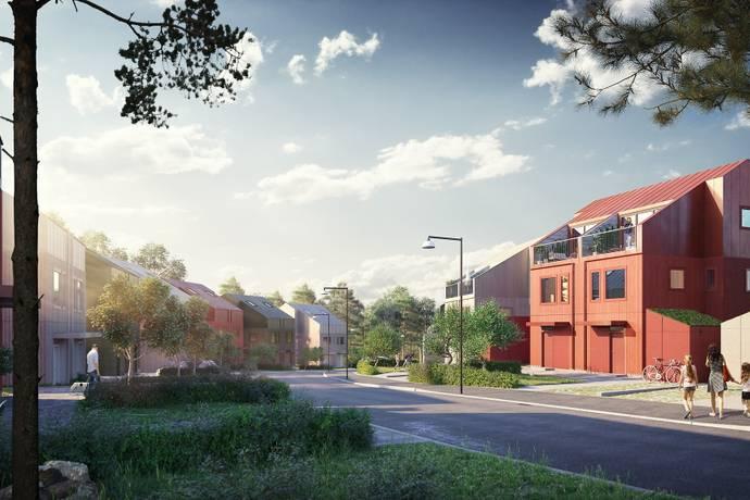 Bild: 5 rum radhus på Forskargränd 14A, Sundbybergs kommun Sundbyberg/Ursvik