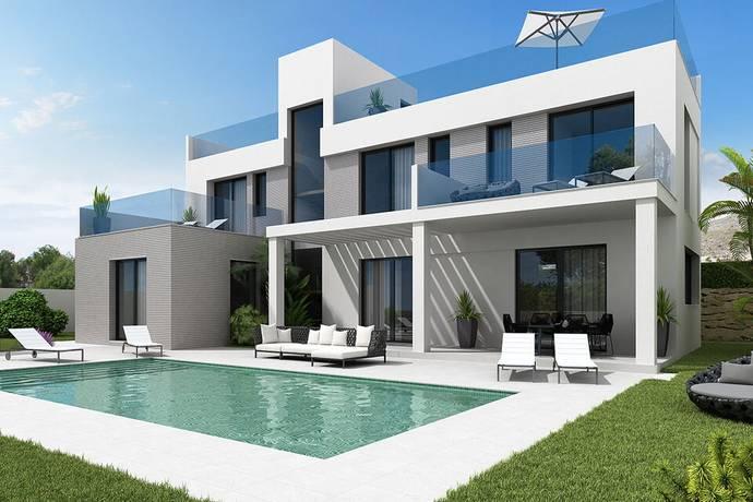 Bild: 5 rum villa på Modern och exklusiv villa Finestrat, Spanien Finestrat, Costa Blanca