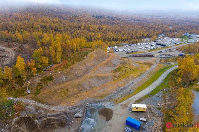 Bild: tomt på Klippkanten lott KK18, Storumans kommun Hemavan / Krokfors