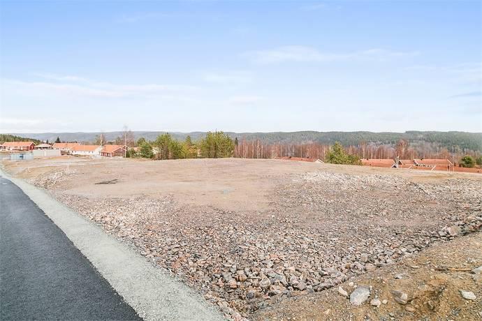 Bild: tomt på Korpvägen 9, Dals-Eds kommun Ed