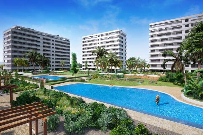 Bild: 4 rum bostadsrätt på Lägenhet i Punta Prima, Alicante, Spanien Punta Prima