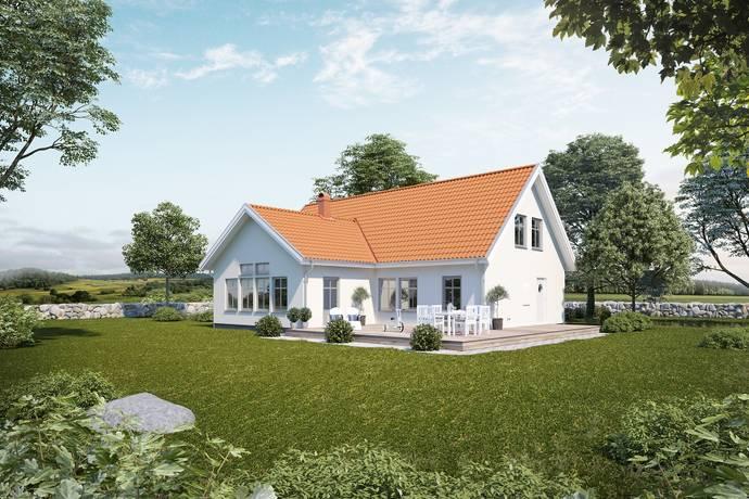 Bild: 4 rum villa på Marma, tomt nr 2, Knivsta kommun Lagga