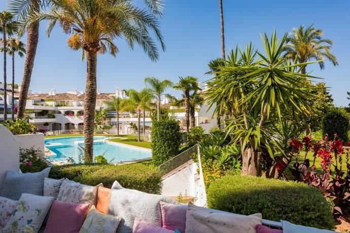 Bild: 3 rum bostadsrätt på Fantastisk trädgårdslägenhet i Rio Real!, Spanien Marbella - Rio Real