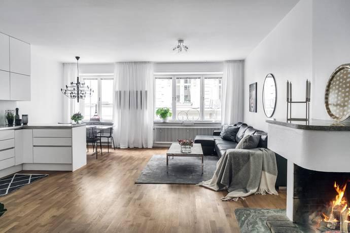 Bild: 2 rum bostadsrätt på Nybrogatan 20, Stockholms kommun Östermalm