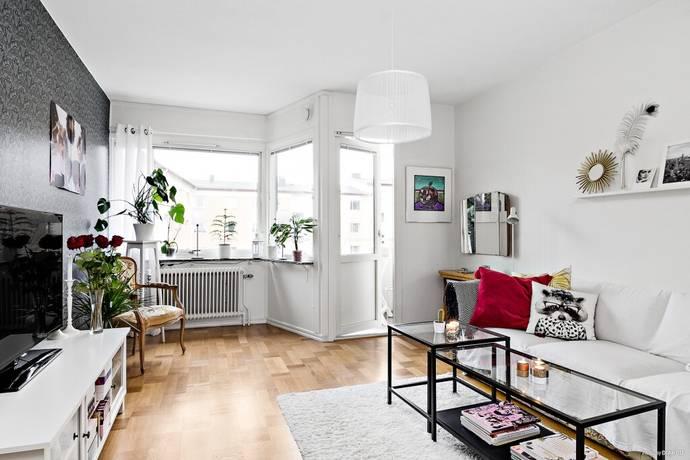 Bild: 1,5 rum bostadsrätt på Källhagsgatan 21, Borås kommun Trandared